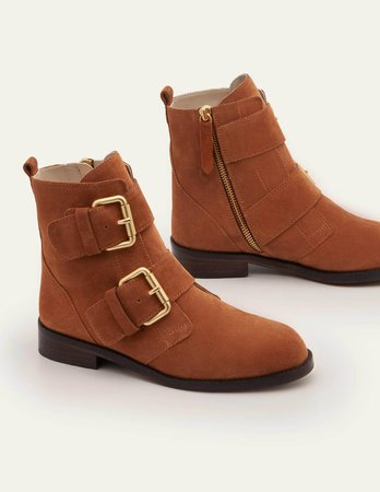 Cavenham Ankle Boots - Tan | Boden US