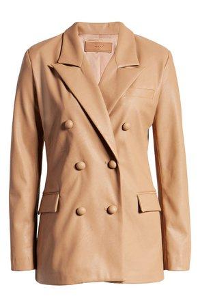 BLANKNYC Faux Leather Blazer | Nordstrom