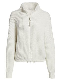 Brunello Cucinelli Zip-Up Sweater