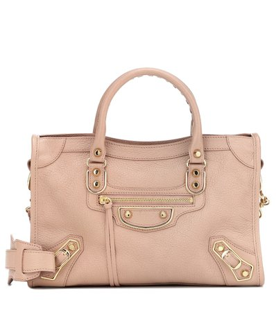 Classic City M Leather Tote | Balenciaga - Mytheresa