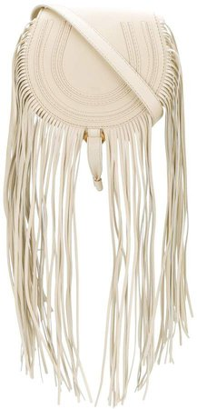 mini Marcie fringed crossbody bag