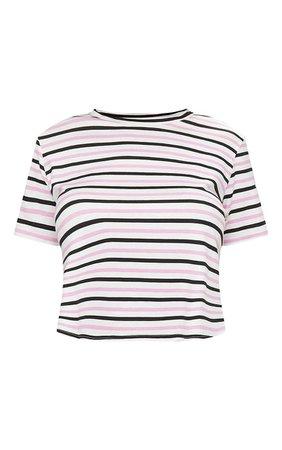 Baby Pink Striped TShirt