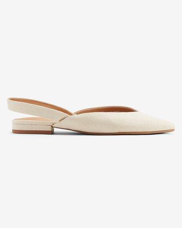 Slingback Ballet Flat   Express