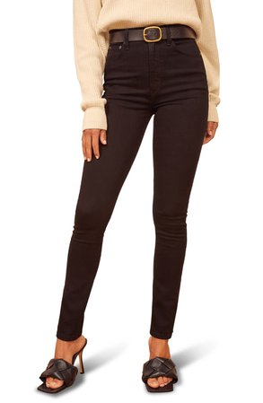 Reformation Ultra High Skinny Jeans   Nordstrom