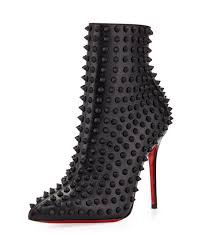 louboutin ankle boots spiky - Cerca con Google
