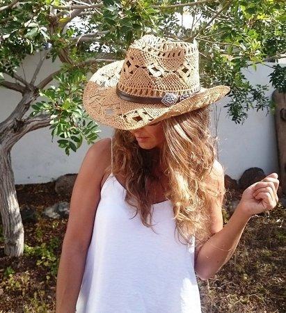 Boho cowboy hats for women bohemian cowgirl straw hat   Etsy