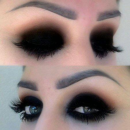 Dark makeup 6
