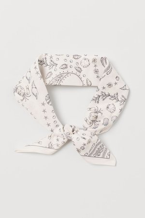 Scarf/hairband - Cream/Paisley-patterned - Ladies | H&M