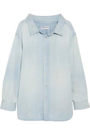 Balenciaga | Cotton-chambray shirt | NET-A-PORTER.COM
