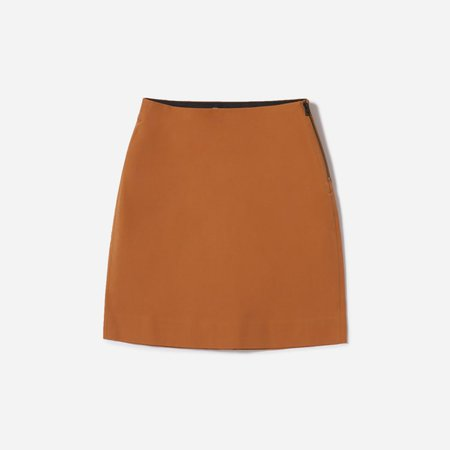 Women's Work Skirt | Everlane brown