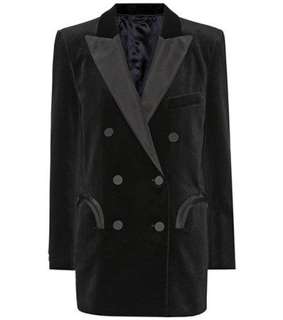 Everyday velvet blazer