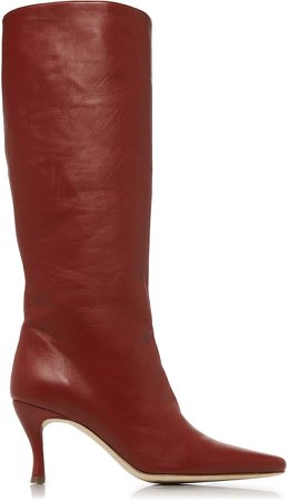 Stevie Leather Knee-High Boots