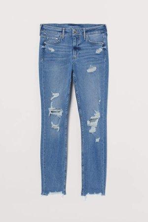 Skinny Regular Ankle Jeans - Blue