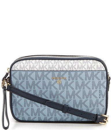 MICHAEL Michael Kors Signature Jet Set Charm Large East West Camera Crossbody Bag | Dillard's