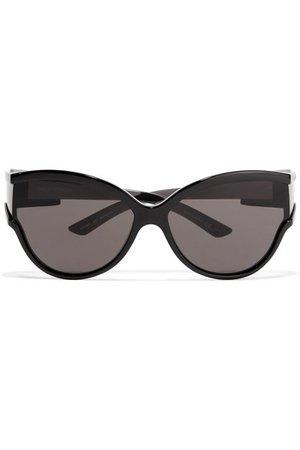 Balenciaga | Unlimited cat-eye acetate sunglasses | NET-A-PORTER.COM