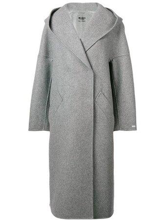Sportmax Longline Cocoon Coat - Farfetch