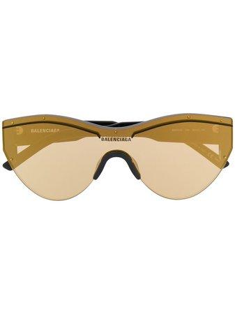 Balenciaga Eyewear Ski Cat mask sunglasses