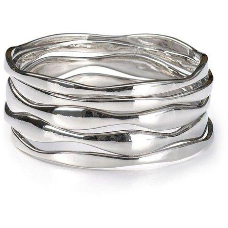silver bracelet polyvore – Pesquisa Google