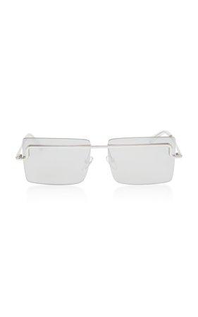 Adam Selman X Le Specs The International Square Frame Sunglasses