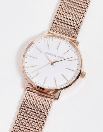 Michael kors Gold strap watch | ASOS