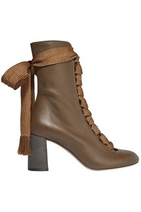 Embellished two-tone suede ankle boots | TOGA PULLA | Sale up to 70% off | THE OUTNET