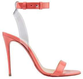 Jonatina 100 Pvc-trimmed Patent-leather Sandals