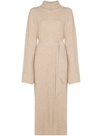 Nanushka Canaan fine-knit Midi Dress - Farfetch