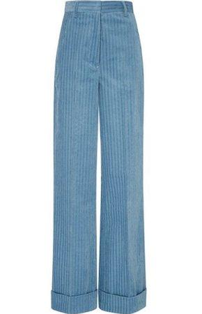 blue corduroy pant