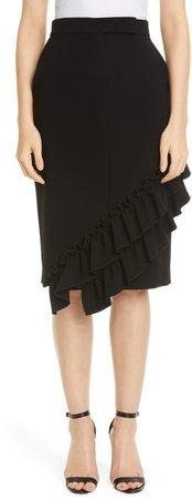 Eles Ruffle Trim Skirt