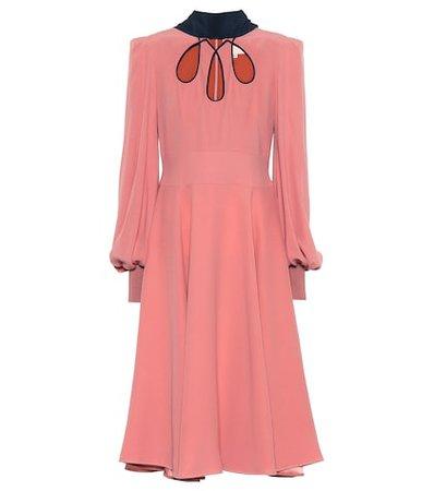 Adena silk dress