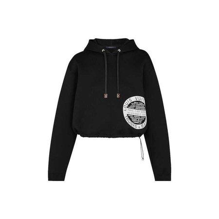 Knitwear Jersey Printed Hoodie   Louis Vuitton ®