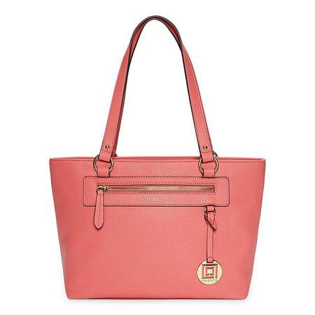Liz Claiborne Jess Tote Bag, Color: Carnation - JCPenney