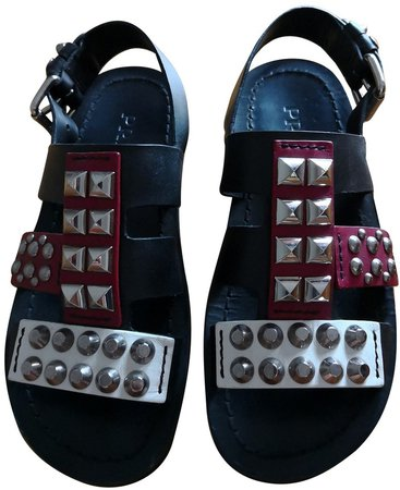 Multicolour Leather Sandals