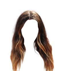 long brown hair transparent - Google Search