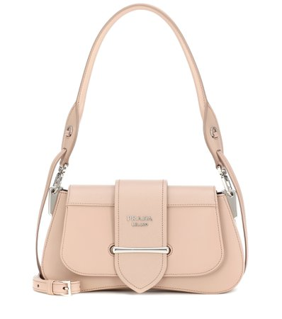 Prada - Sidonie leather shoulder bag | Mytheresa