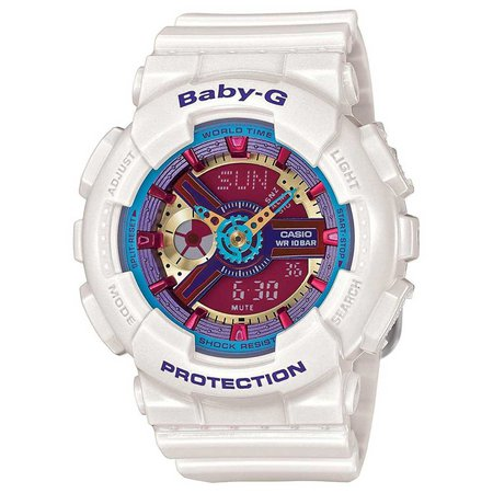 Baby-G: White Watch