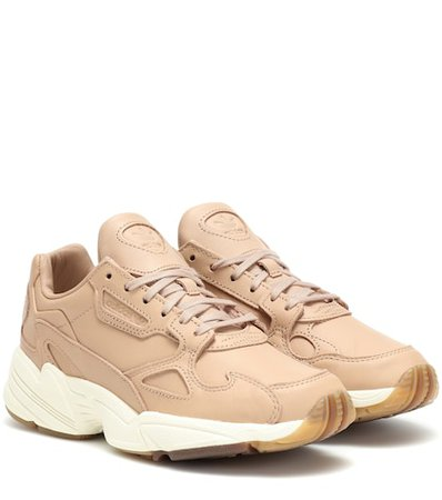 Falcon leather sneakers