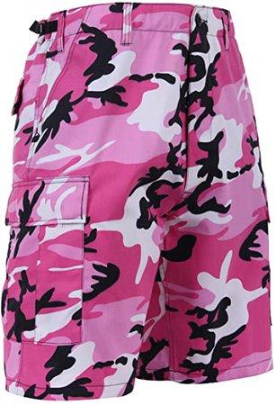 Amazon.com : Rothco Tactical BDU (Battle Dress Uniform) Military Cargo Shorts, Pink Camo, L : Military Apparel Shorts : Clothing