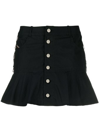 Diesel Flared Mini Skirt - Farfetch