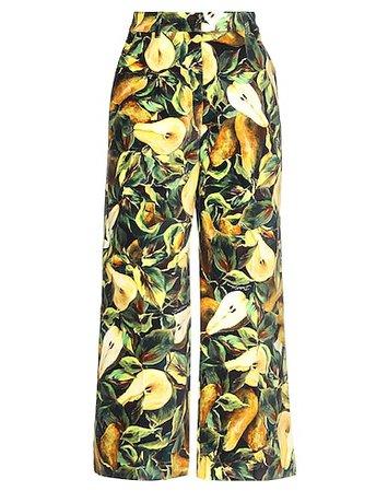 DOLCE & GABBANA Casual Pants - Women DOLCE & GABBANA Casual Pants online on YOOX United States - 13327981DI
