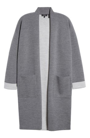 Theory Double Face Long Cardigan | Nordstrom