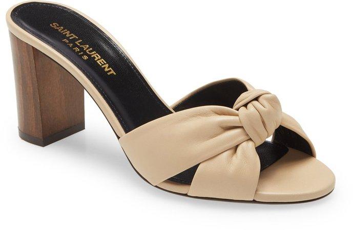 Bianca Knot Slip-On Sandal