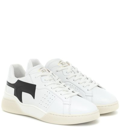 Tod's - Leather sneakers | Mytheresa