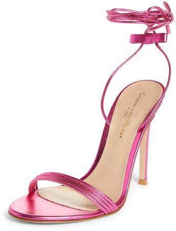 Wrap Ankle Strap Stiletto Sandal