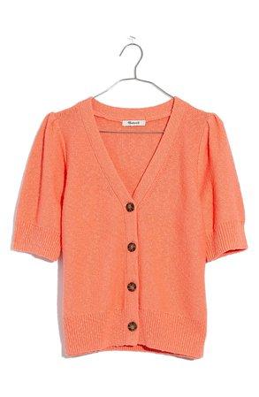 Madewell Short Sleeve Cardigan | Nordstrom