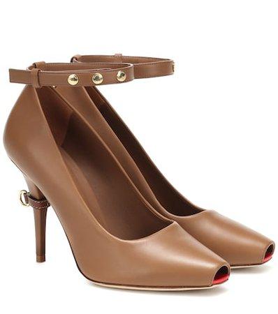 Jermyn leather pumps