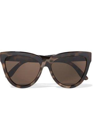 Le Specs   Liar Lair cat-eye tortoiseshell acetate sunglasses   NET-A-PORTER.COM