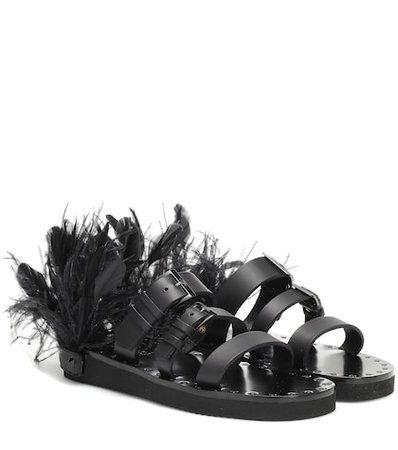 Valentino Garavani Escape leather sandals