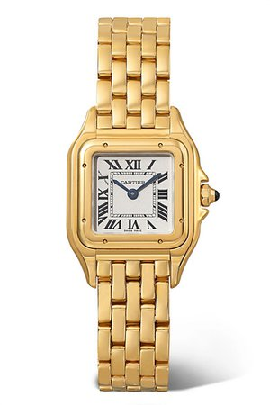 Cartier | Panthère de Cartier small 22mm 18-karat gold watch | NET-A-PORTER.COM