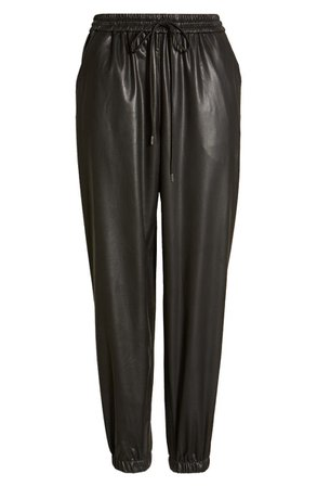 BLANKNYC Faux Leather Joggers | Nordstrom